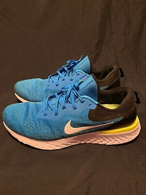 6753703be1b84 Nike Odyssey Epic React Volt Blue A09829-402 Men s Running Shoes Size 14