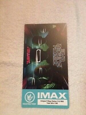 Ready Player One Steven Spielberg Regal Collectible IMAX Ticket Out of 1000