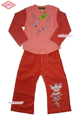 Oilily ✿ Designer ✿ NWT ✿ Girls Ice Skater Top & Pants ✿ Euro 98  size 2 / 3