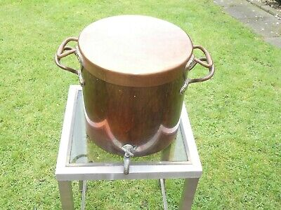 Antique Benham Froud Copper Stock Pot Tea Urn Casserole Marmite Stew Pan 8Kg