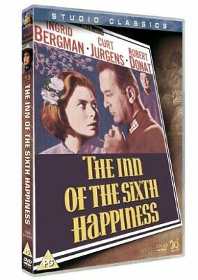 The Inn Of The Sixth Happiness [DVD] [1958] By Ingrid Bergman,Curd Jürgens,Ma.