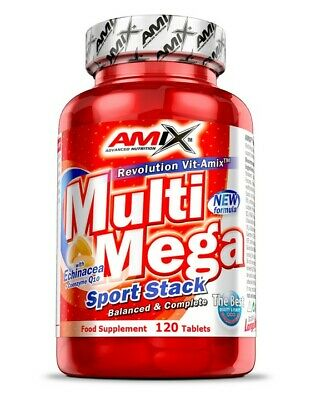 Amix Nutrition Multi Mega Stack 120 Tablets Vitamins Minerals + coenzyme q10