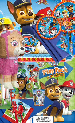 PAW Patrol Party Supplies And Decoration For Girls Boys