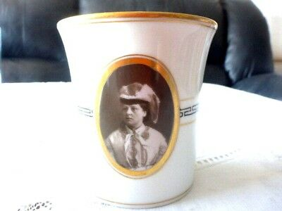 Ceramic Beaker ? Princess Louise (Queen Victorias Daughter) Free Post Aus
