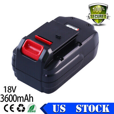 Replacement For PORTER-CABLE 18Volt 3.6Ah BATTERY PC18B-2 PCC489N PCMVC PCXMVC