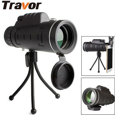 40x60 HD Telescope Day & Night Vision Optical Monocular Hunting Camping Hiking