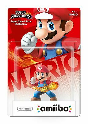 NEW Mario Amiibo Figure Character No. 5 for Nintendo Switch Super Smash Bros.