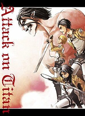 Attack on Titan: Guren no Yumiya Crimson bow and Arrow blu-ray JAPAN LTD JP