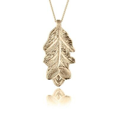Irish Gold Pendant - Gorse - Sacred Trees Collection
