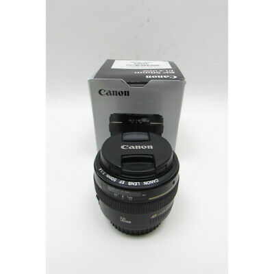 Canon EF 50mm f/1.4 USM Telephoto Lens for Canon SLR Cameras - Fixed