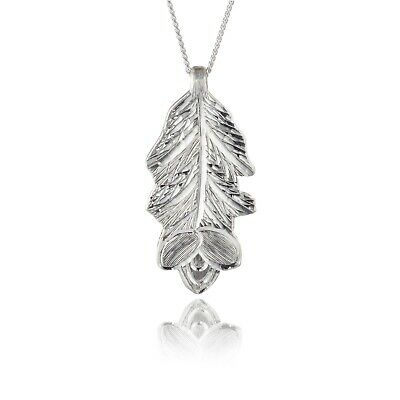 Irish Silver Pendant - Gorse - Sacred Trees Collection