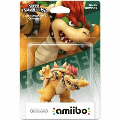 NEW Bowser Amiibo Figure Character No. 20 for Nintendo Switch Super Smash Bros.
