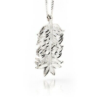Irish Silver Pendant - Yew - Sacred Trees Collection