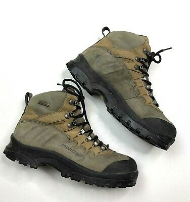 4221f81a9cc MONTRAIL 8 1/2 W Gore-Tex Leather Hiking Boots Waterproof Vibram Soles  Women's