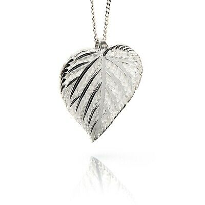 Irish Silver Pendant - Birch - Sacred Trees Collection