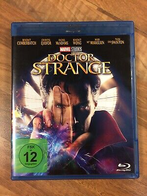 DOCTOR  STRANGE-MARVEL STUDIOS - Benedict Cumberbatch - Blu ray - Top!