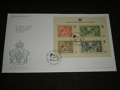 2011 GB Stamps THE KINGS STAMPS Mini Sheet First Day Cover LONDON N1 Cancels FDC