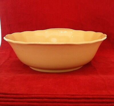 "Vintage ""grindley-Laburnums"" Yellow Round Bowl-9"""