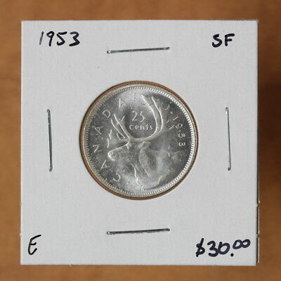 Canada - 1953 SF - 25 cents - #2254