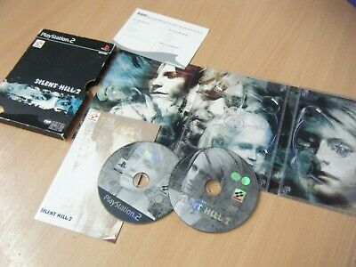 Retro Silent Hill 2 Special 2 Disc Edition Playstation 2 Game With Manual Pal