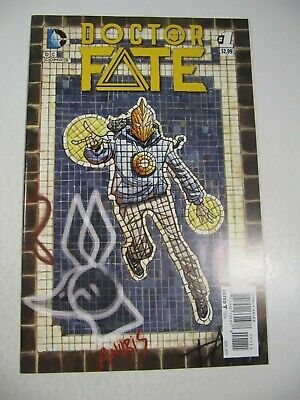 Doctor Fate Comic Book #1 (DC 2015) 1st Dr. Fate Khalid Nassour-Movie?  VF