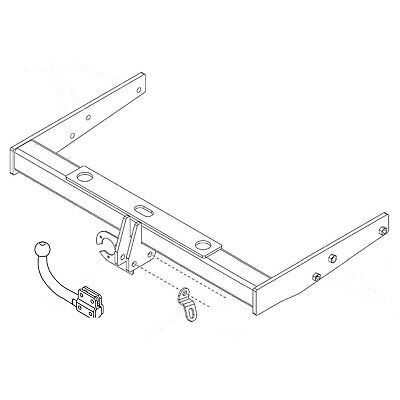 Towbar for Volkswagen Caravelle T5 2010-2015 - Swan Neck Tow Bar