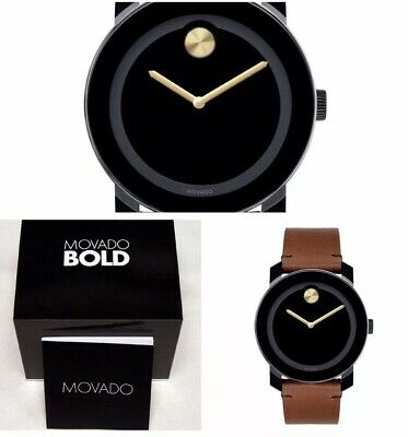 Movado Bold Unisex Watch 3600305 Brand New Free Shipping! Box & Papers!!