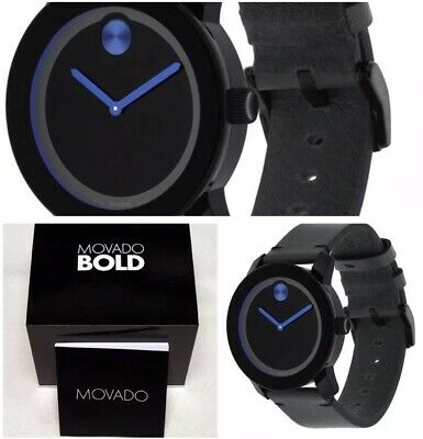 Movado Bold Mens Watch 3600307 Brand New Free Shipping! Box & Papers!!