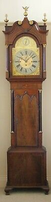 Antique Mahogany Musical Longcase Clock