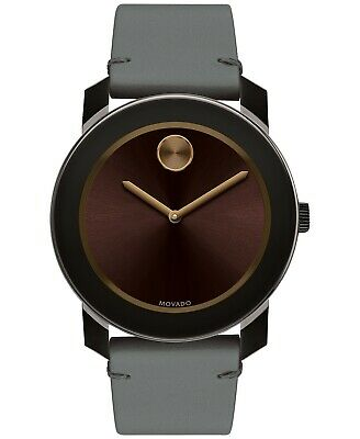 Movado Bold Mens Watch 3600455 Brand New Free Shipping! Box & Papers!!