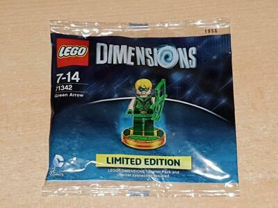 Lego Dimensions Limited Edition Green Arrow Figure 71342 *NEW & SEALED*