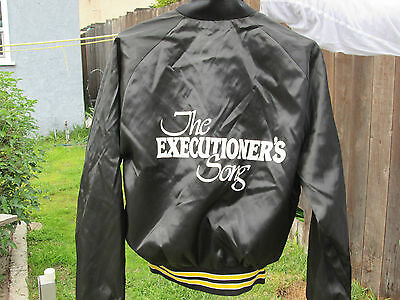 THE EXECUTIONER'S SONG Vintage 1982 Film Crew Jacket GARY GILMORE Norman  Mailer