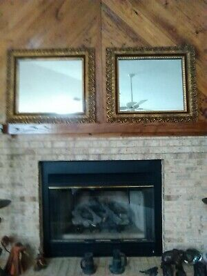 Antique Mirrors Wooden Frame