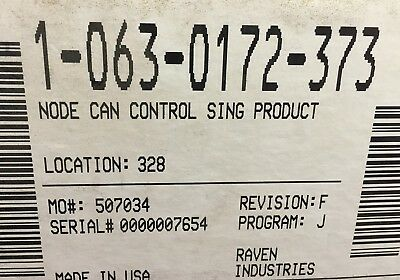 063-0172-373, Raven Node Can Control Single Product