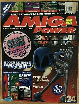 Amiga Power Magazine  -   Issue no. 24 April 1993