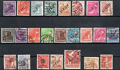 Berlin - 1948-49 Selection - Used Nh