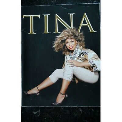 TINA TURNER  -   50TH ANNIVERSARY TOUR EUROPE 2009  -   Programme Officiel