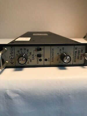 Ectron 751EMN Differential DC Amplifier Series 750