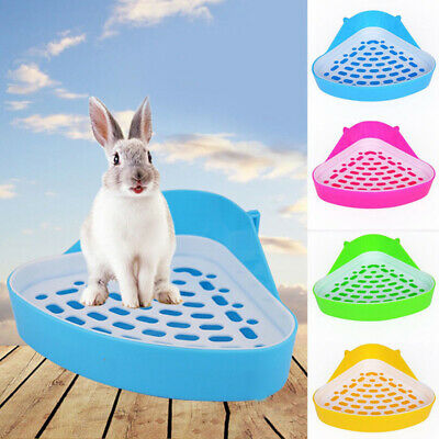 Litter Tray Toilet Pet Mouse Rabbit Potty Pee Plastic High Quality Accessories