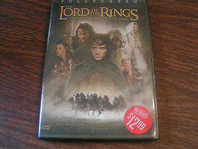 Lord of the Rings The Fellowship of the Ring (DVD)