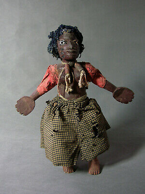African Yoruba Colonial Marionette Puppet Ex Poolos Published By Irwin Hersey