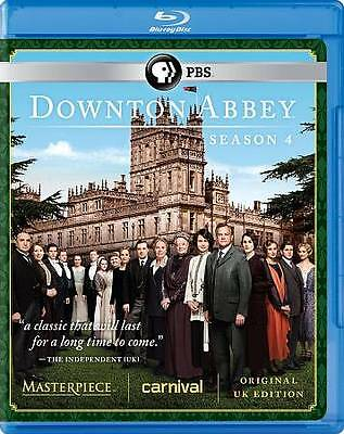 Downton Abbey: Season 4 (Blu-ray Disc, 2013, 3-Disc Set)