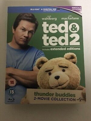 TED 1&2 Two Movie Collection Blu-Ray Box Set - Region B