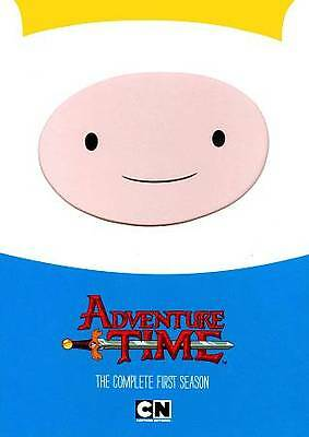 Adventure Time: The Complete First Season 1 (DVD, 2012, 2-Disc Set) ADULT OWNED