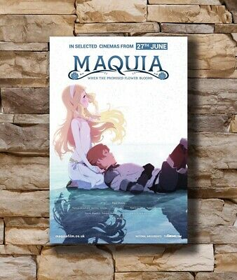 Hot Maquia When the Promised Flower Blooms Japan Anime New Art Poster T-3026