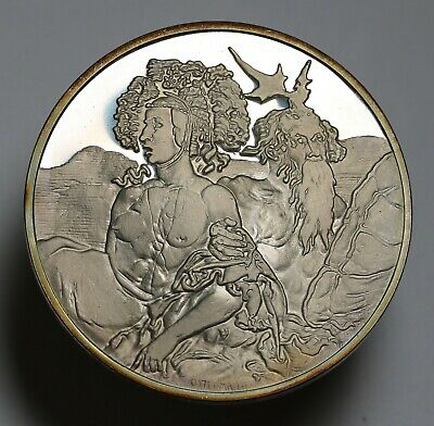 1972 Germany Masterpieces of Albrecht Durer Silver Medal Proof Edge Numbered