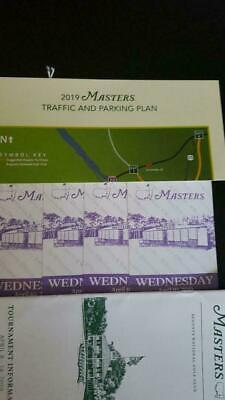 4 Masters Tickets-Practice Round & Par 3 Tournament-Wednesday April 10 2019