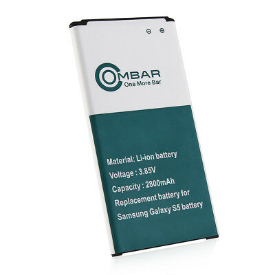 New OEM Replacement Battery for Samsung Galaxy S5 2800mAh EB-BG900