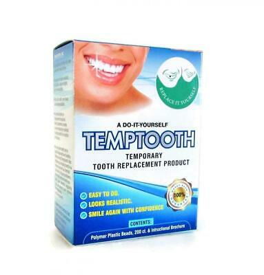 Temporary Tooth Replacement Kit with Dental Tools, DIY Filling for Missing