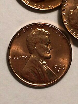 1960-D Large Date Lincoln Cent Penny BU UNC Hand Picked from Roll - Nice Luster